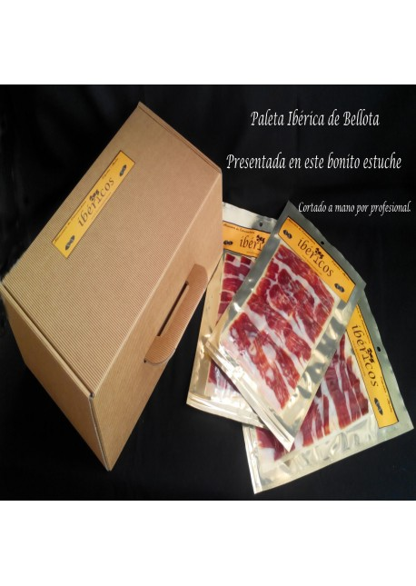 Paleta Ibérica de Bellota Loncheada COMPLETA