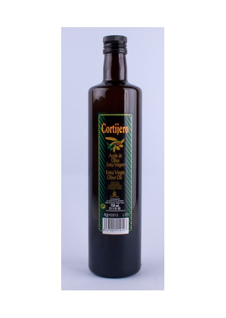 Glass Extra Virgin Olive Oil 750 ml